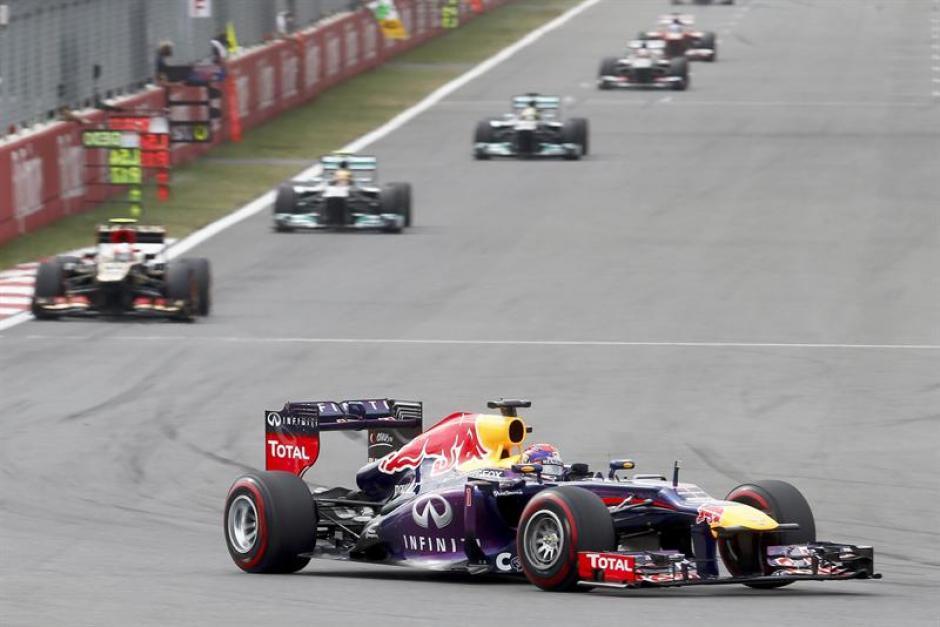 Sebastian Vettel encabezó la carrera de comienzo a fin en el Gran Premio de Corea.