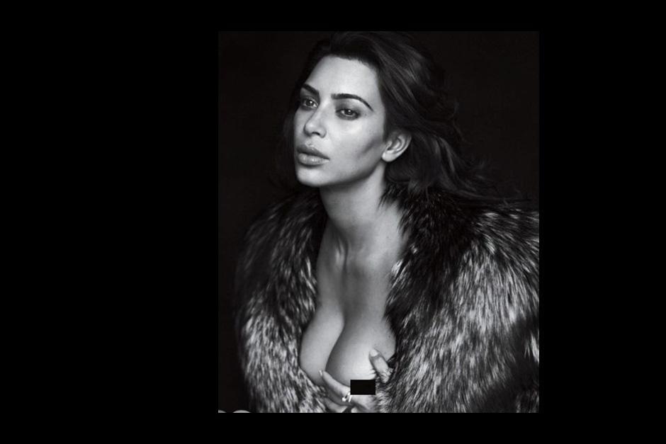 Todo se explica por la reciente maternidad de Kardashian, que dio a luz a Saint West. (Foto: GQ)