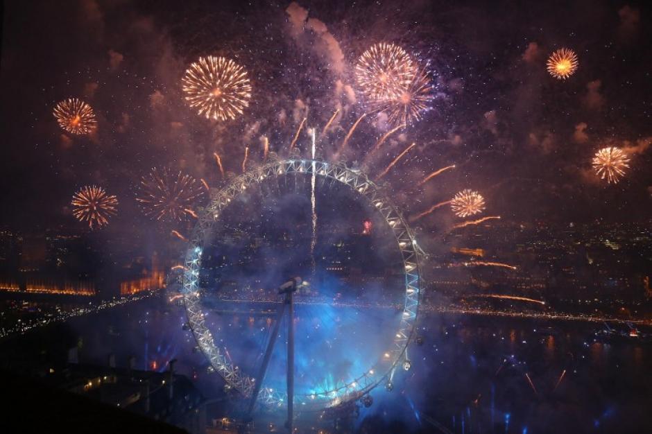 La celebración del nuevo año ya llegó a todos los países de Oceanía, Asia y Europa. Acá haremos un breve recorrido por estas celebraciones. (Foto: AFP)