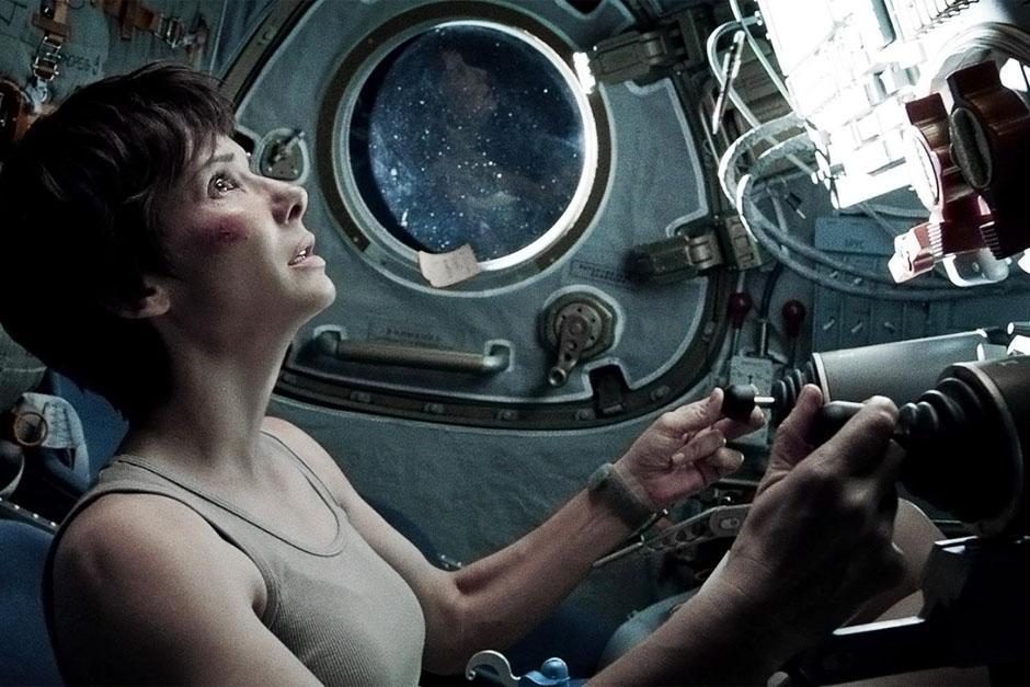 Gravity, la cinta del director mexicano Alfonso Cuarón que es protagonizada por Sandra Bullock, podría luchar por varias estatuillas