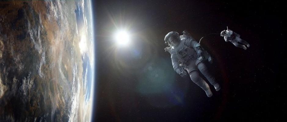 Escena de Gravity