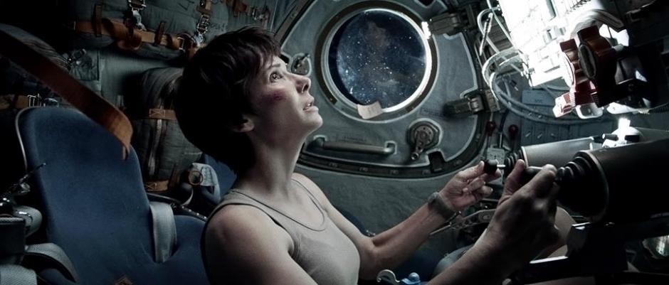 Sandra Bullock, es la estrella de Gravity