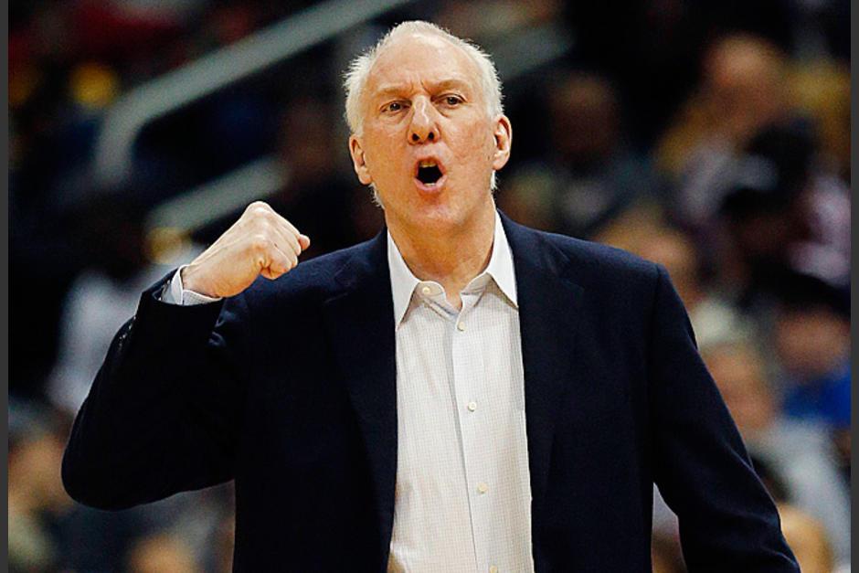 Gregg Popovich entrenador del año en la NBA