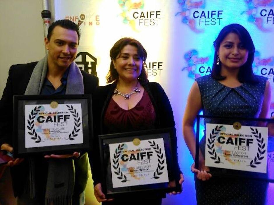 """La película guatemalteca """"Ambiguity"""", recibió tres galardones en el Primer Festival Internacional de Cine Centroamericano, celebrado en California. (Foto: Grisel Wilson)"""
