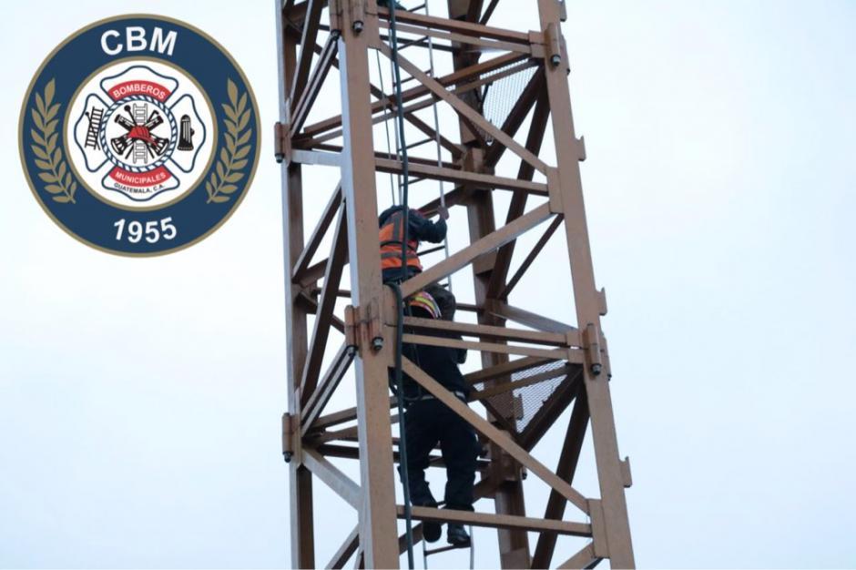 Los socorristas tuvieron varias dificultades para el rescate. (Foto: @bomberosmuni)