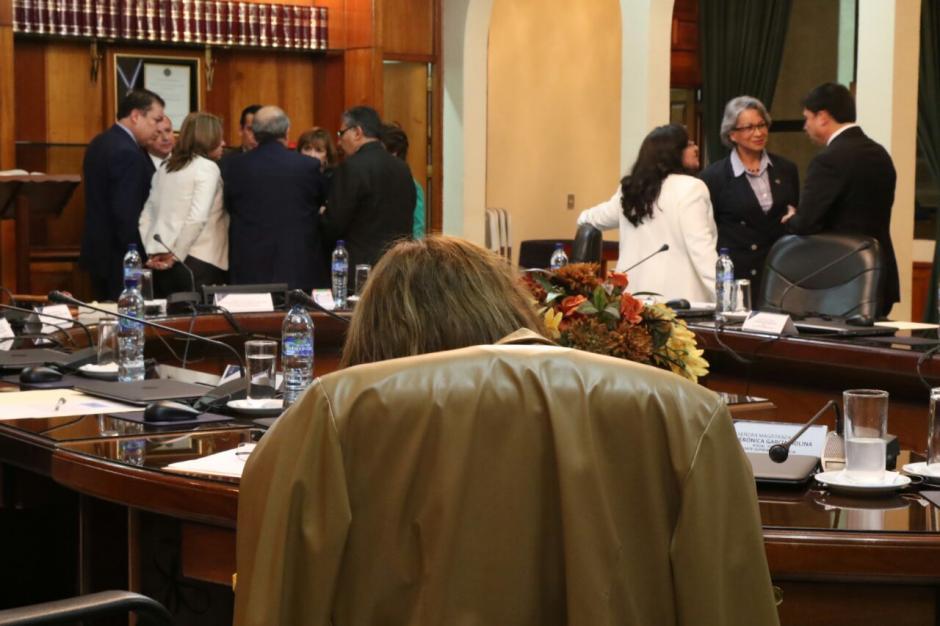 Los dos grupos de magistrados no llegan a acuerdos para elegir al presidente de la CSJ. (Foto: Alejandro Balán/Soy502)
