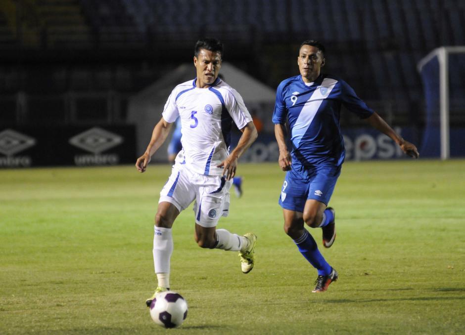 El Salvador tuvo pocas ocasiones de anotar un gol en el encuentro. (Foto: Pedro Mijangos/Soy502)