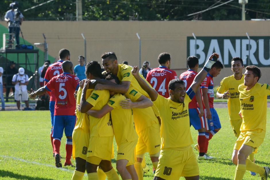 El Deportivo Guastatoya vive el mejor torneo en su corta historia en la Liga Nacional, por primera vez están en semifinales. (Foto: Nuestro Diario)