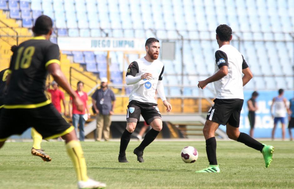 Jean Márquez también mostró un buen nivel. (Foto: Luis Barrios/Soy502)