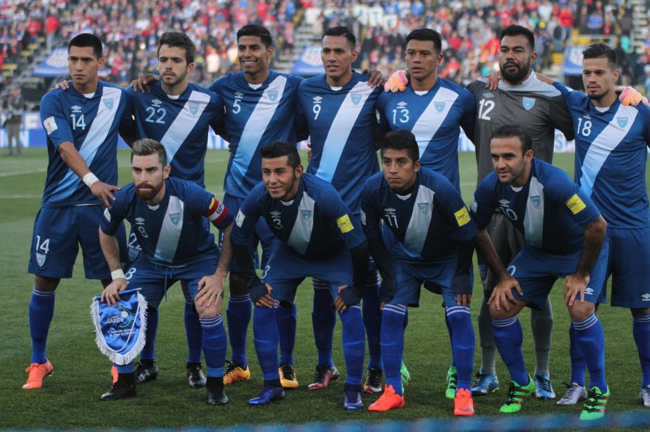 Este fue el once titular de la Selección de Guatemala que enfrentó a Estados Unidos. (Foto: Luis Barrios/Soy502)