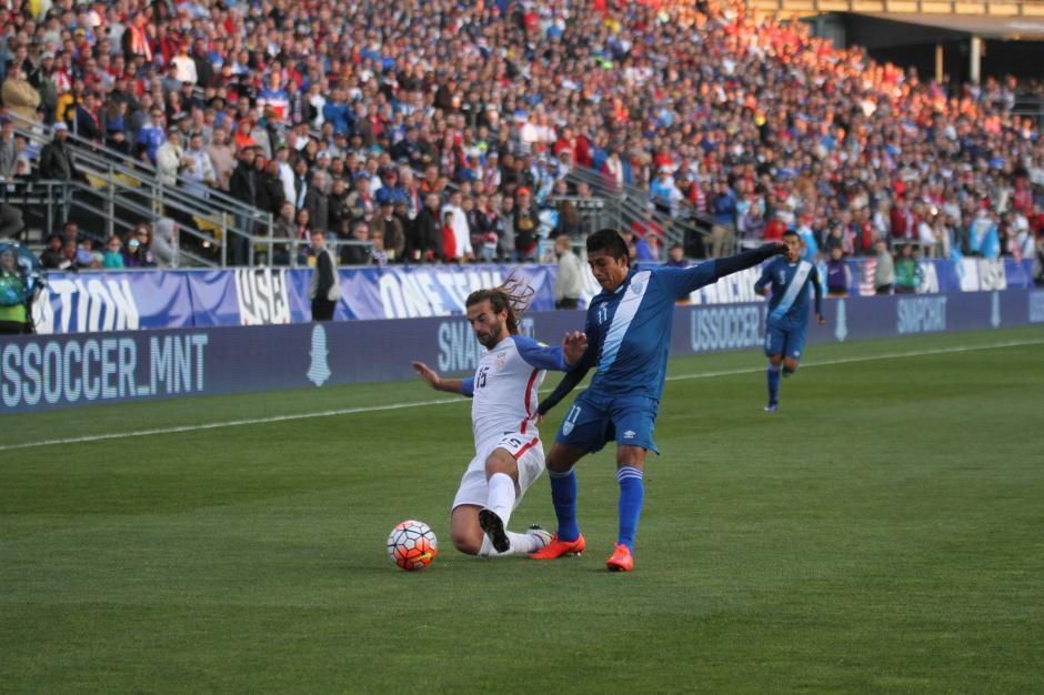 Mafre Ictué debutó con la Sele en partido oficial, pero no tuvo un buen primer tiempo. (Foto: Luis Barrios/Soy502)