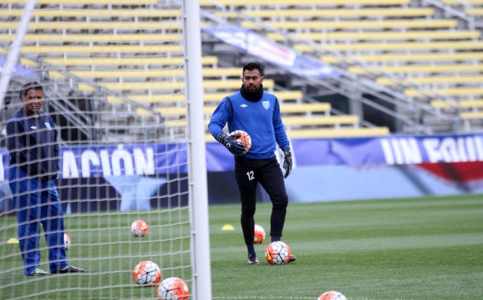 Paulo Motta volverá a defender los tres postes de la Selección Nacional. (Foto: Luis Barrios/enviado especial de Soy502)