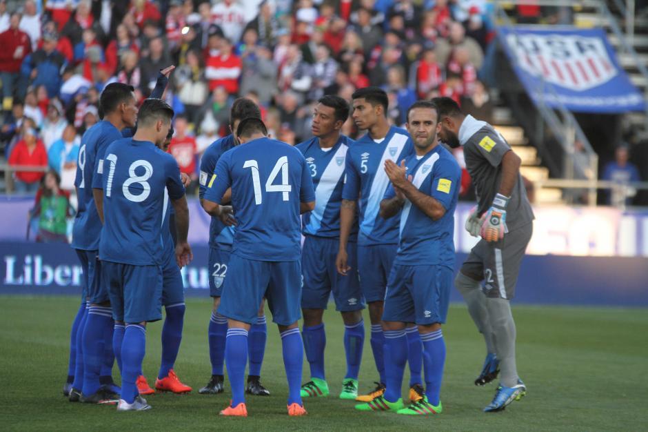 La Selección tuvo que remar desde los primeros minutos con gol en contra. (Foto: Luis Barrios/Soy502)