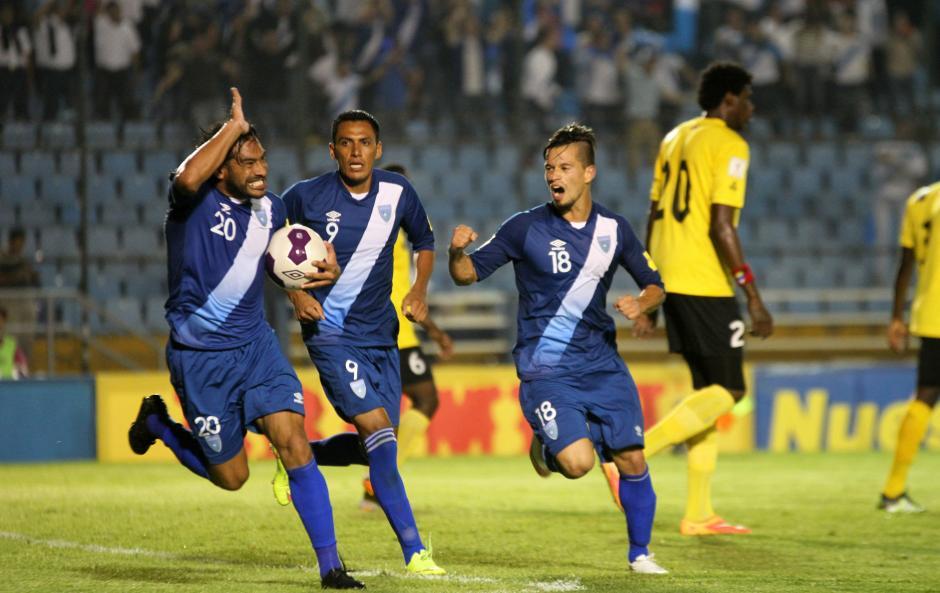 """Carlos """"el Pescado"""" Ruiz regresó a la vida a Guatemala con un gol importante en su carrera. (Foto: Luis Barrios/Soy502)"""