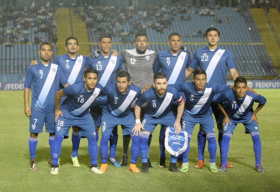 Jean Márquez fue el capitán de la Sele por segundo juego consecutivo. (Foto: Luis Barrios/Soy502)