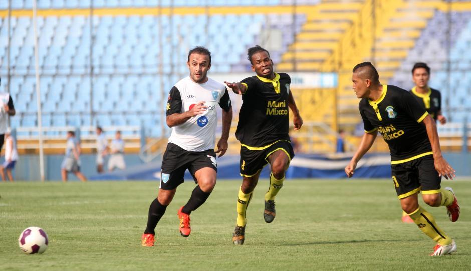 José Contreras jugó los 90 minutos y trató de ser el motor. (Foto: Luis Barrios/Soy502)