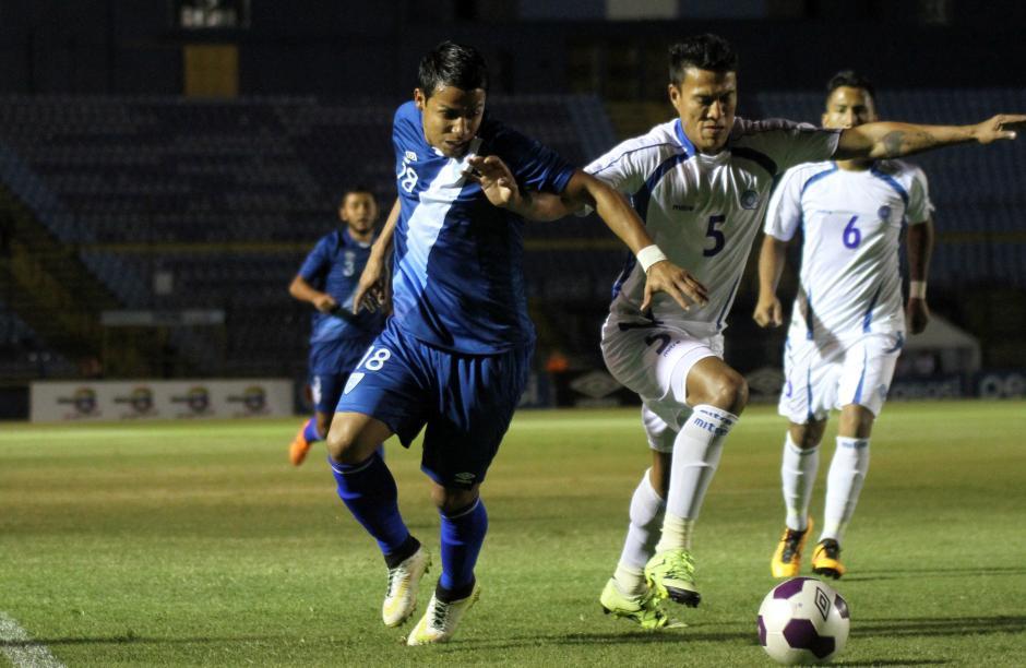 La Selección de Guatemala y El Salvador disputaron un partido amistoso. (Foto: Luis Barrios/Soy502)