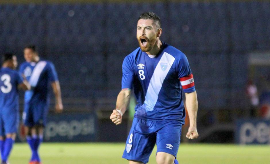 Márquez anotó su segundo gol con la Sele en la era Claverí. (Foto: Luis Barrios/Soy502)