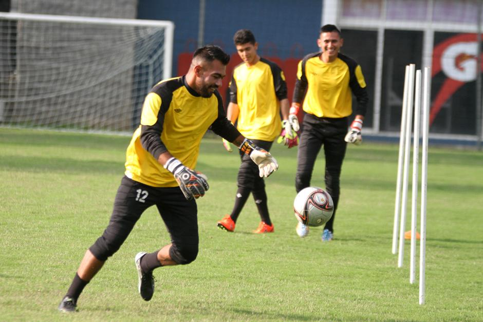 Paulo Motta se perfila a ser el portero titular de la Sele para jugar ante Estados Unidos. (Foto: Luis Barrios/Soy502)