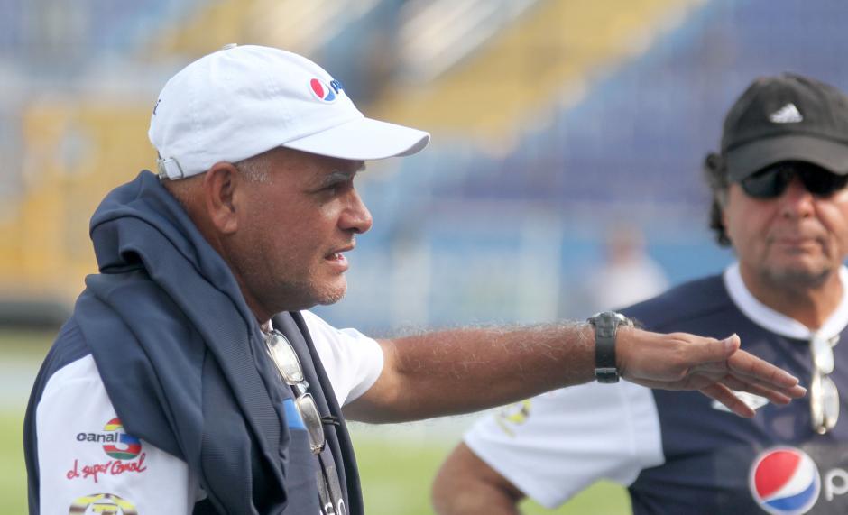 Walter Claverí se mostró complacido con sus jugadores. (Foto: Luis Barrios/Soy502)