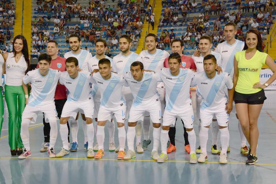 Futsal selección guatemala 2015 foto soy502