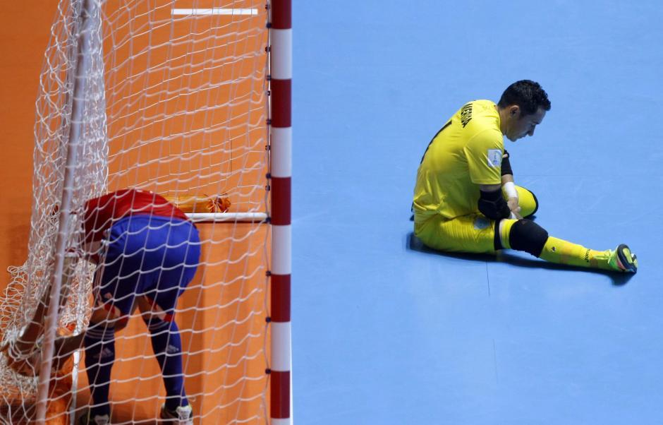 Carlos Mérida podría haber disputado su último Mundial de futsal. (Foto: EFE)