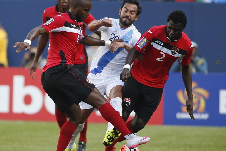 Guatemala perdió 1-3 ante Trinidad y Tobago durante el debut en Copa Oro. (Foto: Getty)