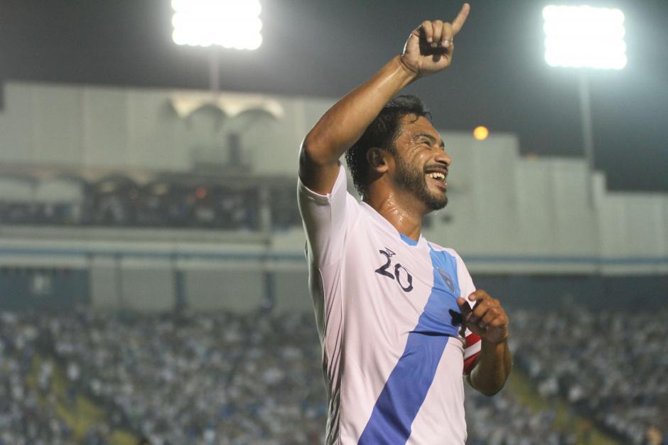 """60 goles ha marcado """"El Pescado"""" con la Selección Nacional. (Foto: Archivo/Soy502)"""