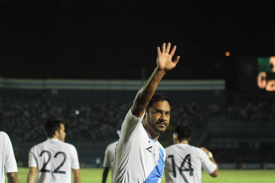 """Este 6 de septiembre, Carlos """"El Pescado"""" Ruiz se despedirá de la Azul y Blanco. (Foto: Archivo/Soy502)"""