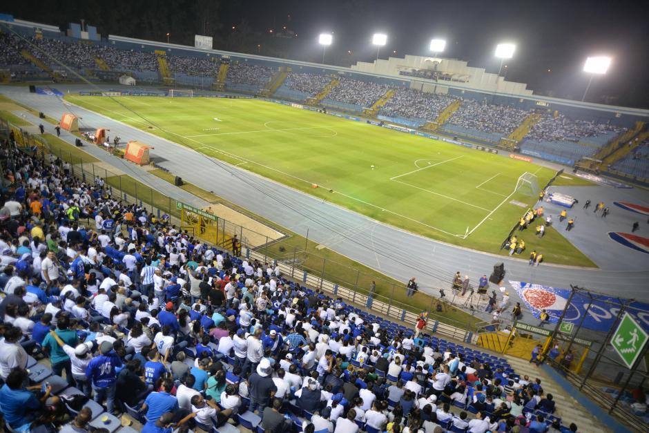 El estadio nacional es el referente del país. (Foto: Archivo/Soy502)