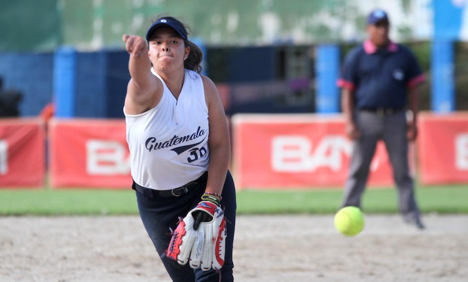 La lanzadora nacional Joselline Monge, espera brillar en el mundial. (Foto: Luis Barrios/Soy502)