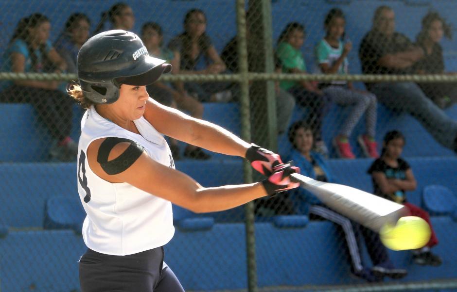Rocío Samayoa es una de las más experimentadas de la selección guatemalteca. (Foto: Luis Barrios /Soy502)