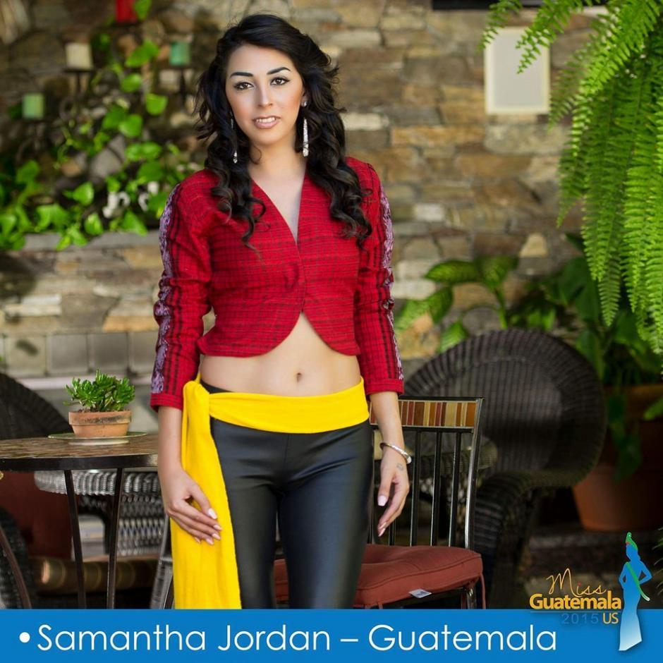 Samantha Jordan representa a Guatemala. (Foto: Miss Guatemala US)