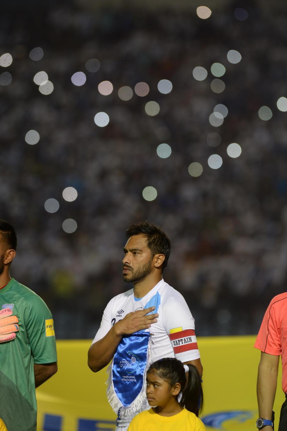 Carlos Ruiz se lució hasta el minuto 85 cuando salió del juego (Foto: Diego Galiano/Nuestro Diario)