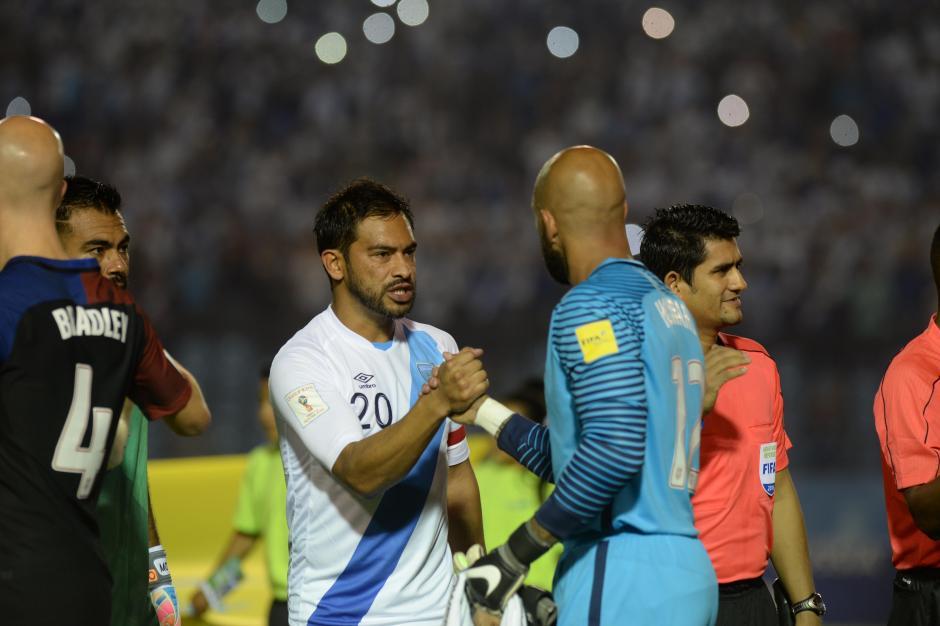 El capitán se mostró confiado durante los 90 minutos. (Foto: Diego Galiano/Nuestro Diario)