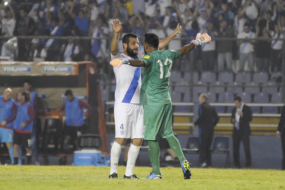 El portero no fue vencido durante los 90 minutos de juego. (Foto: Orlando Chile/Nuestro Diario)