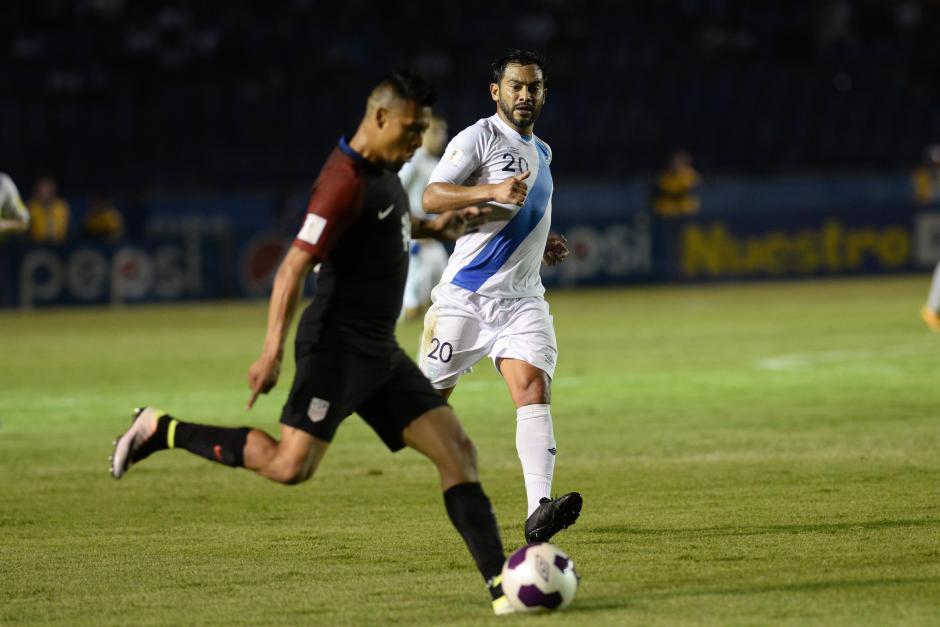 """El """"Pescado"""" Ruiz tuvo un desempeño excepcional. (Foto: Sergio Muñoz/Nuestro Diario)"""