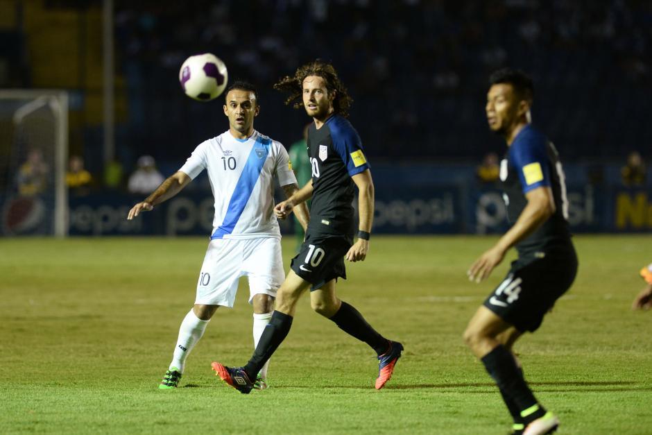Guatemala se mostró superior a Estados Unidos. (Foto: Sergio Muñoz/Nuestro Diario)