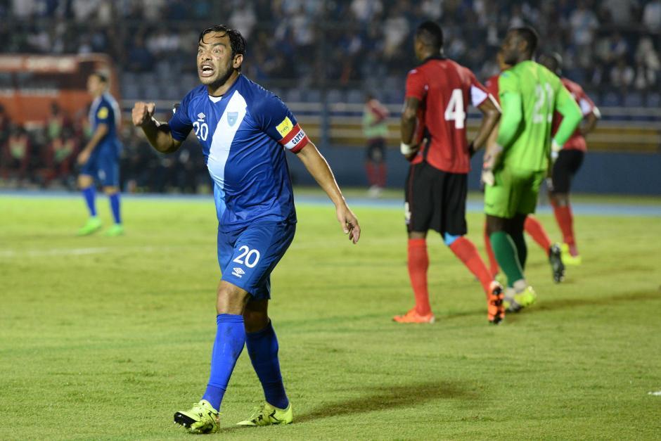 Ruiz exigió en cada momento del juego la atención a sus compañeros, para tratar de acercarse al gol.(Foto: Nuestro Diario)