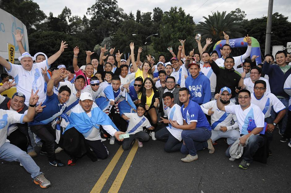 Los aficionados de Guatemala no faltan a la cita con su Selección. (Foto: Nuestro Diario)