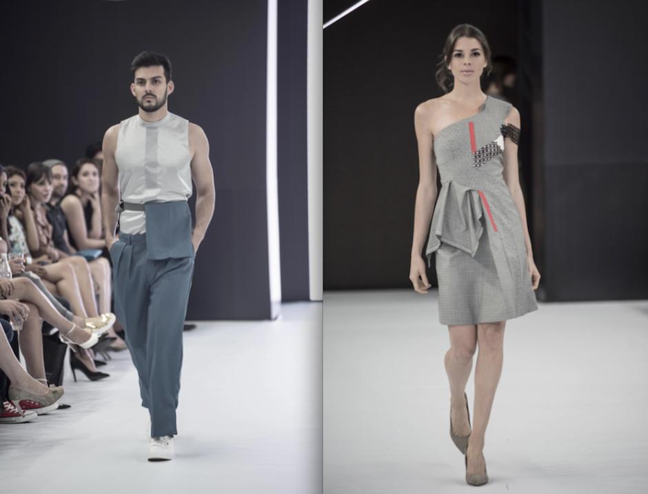 Dos diseñadores brillaron en la Semana de la Moda de El Salvador. (Foto: Tony Daza)