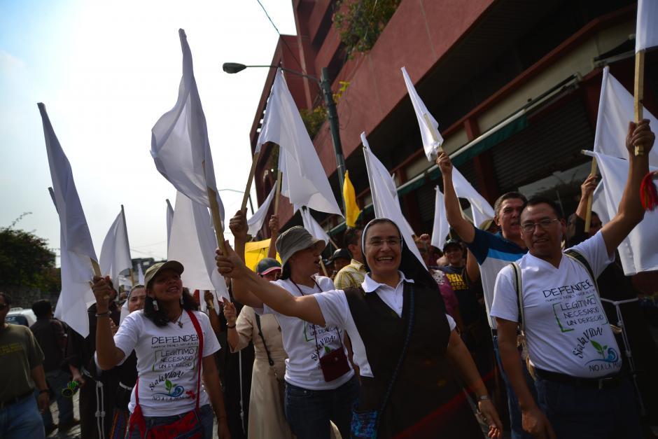 Grupos religiosos también exigieron la renuncia del binomio presidencial. (Foto: Archivo/Soy502)