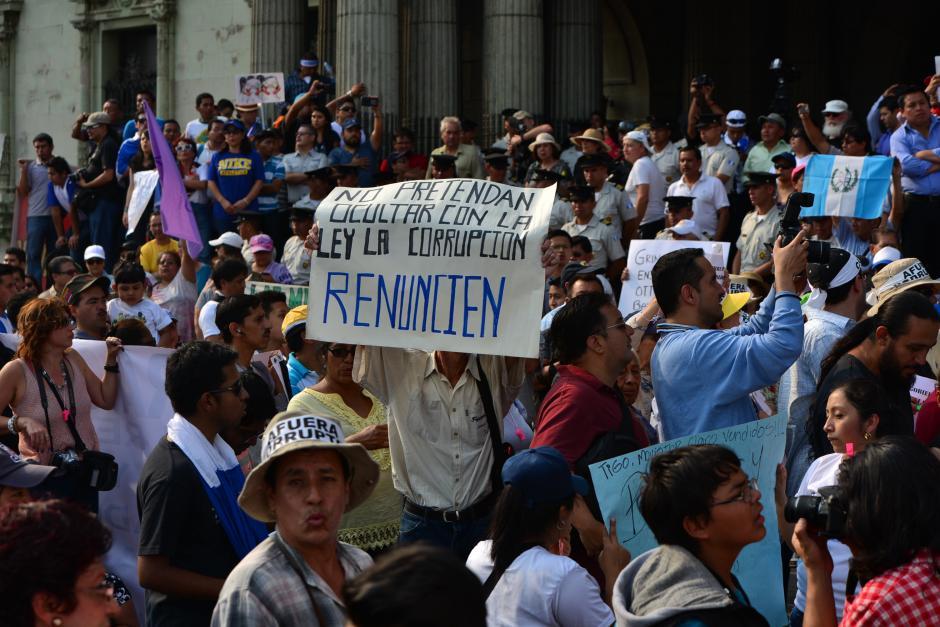 Las formas de manifestar fueron diversas. (Foto: Archivo/Soy502)