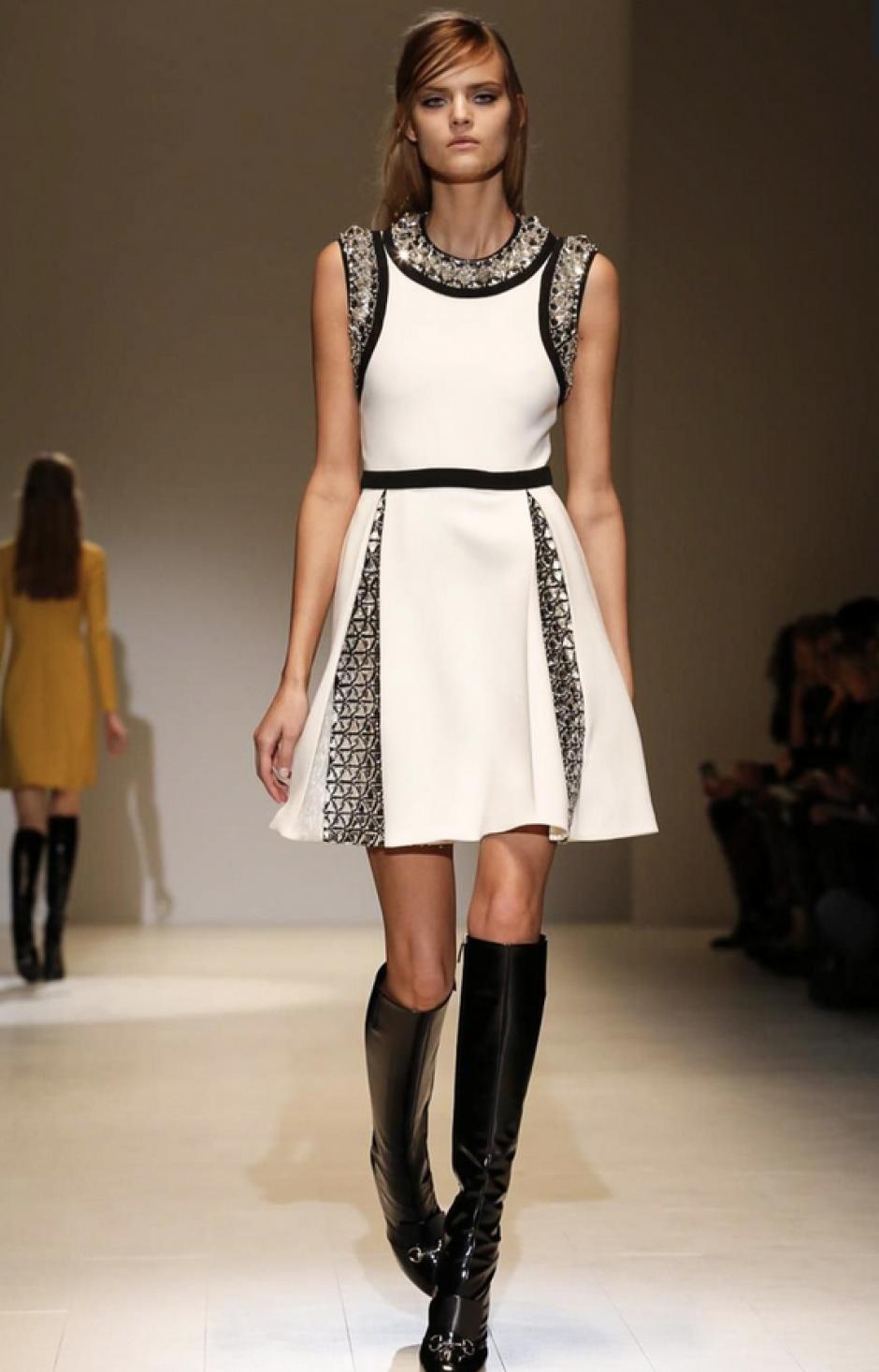 El blanco y los cortes perfectos reafirmaron la elección de las fashionistas y estrellas por la marca. (Foto: NowFashion)