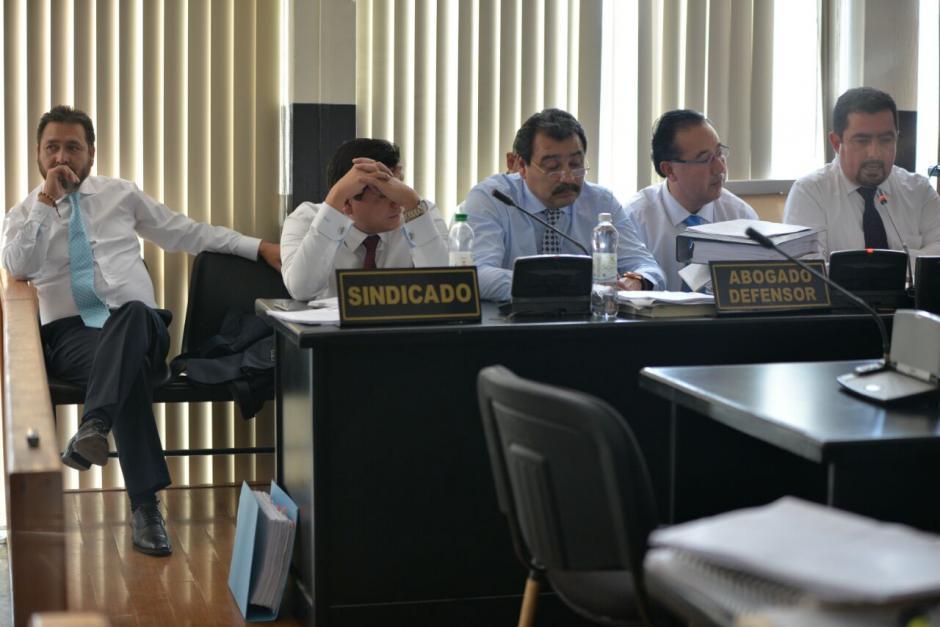 El exdiputado Gudy Rivera y el abogado del Partido Patriota (PP) Vernon González, son acusados de tráfico de influencias. (Foto: Wilder López/Soy502)