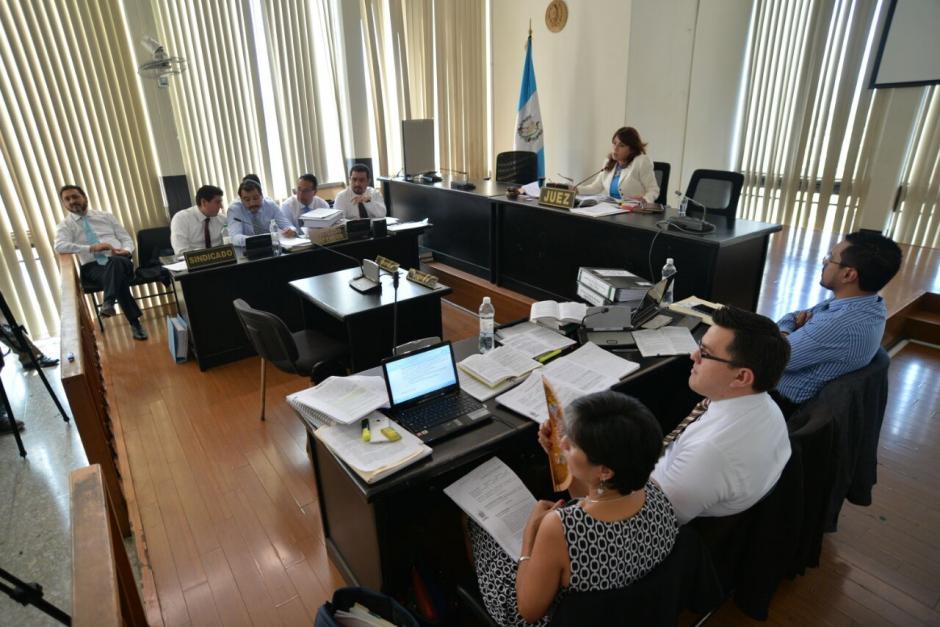 El juicio inició este lunes luego que el abogado de Rivera no asistiera a las anteriores citaciones. (Foto: Wilder López/Soy502)