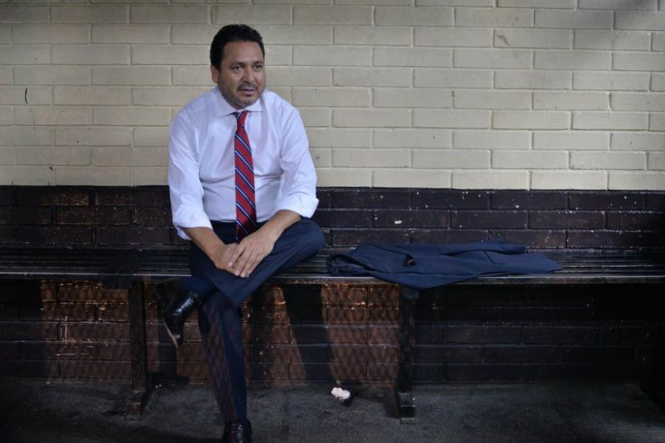 El expresidente del Congreso fue capturado en marzo pasado. (Foto: Wilder López/Soy502)
