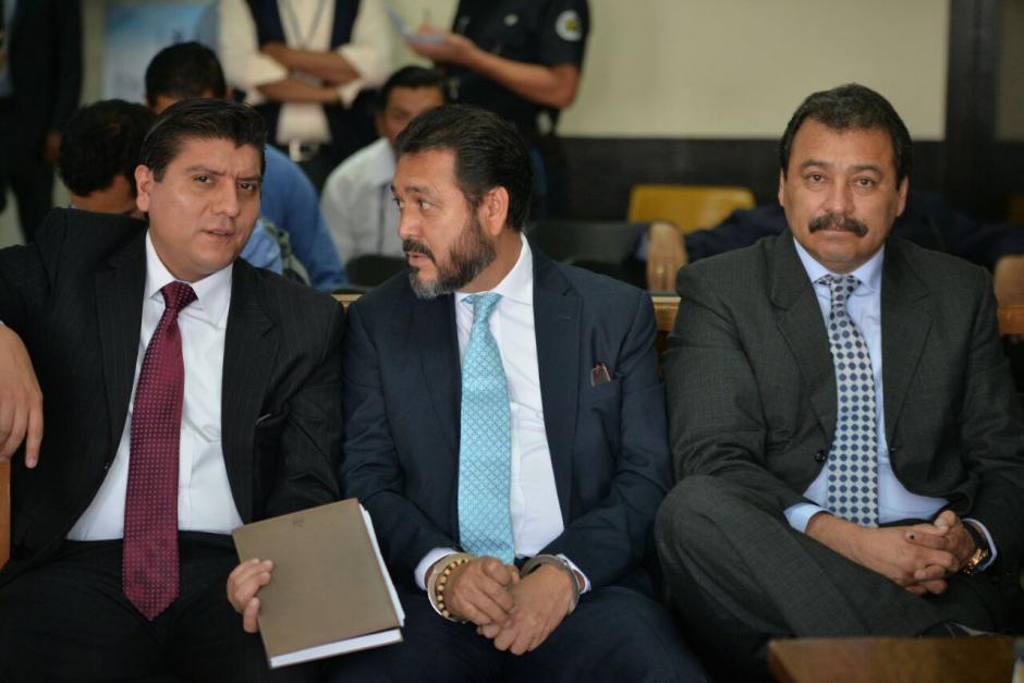 Los abogados de Gudy Rivera ahora sí se presentaron al inicio del juicio. (Foto: Wilder López/Soy502)