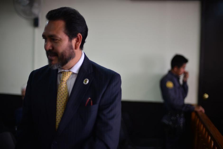 El exdiputado está acusado de tráfico de influencias y cohecho activo. (Foto: Jesús Alfonso/Soy502)