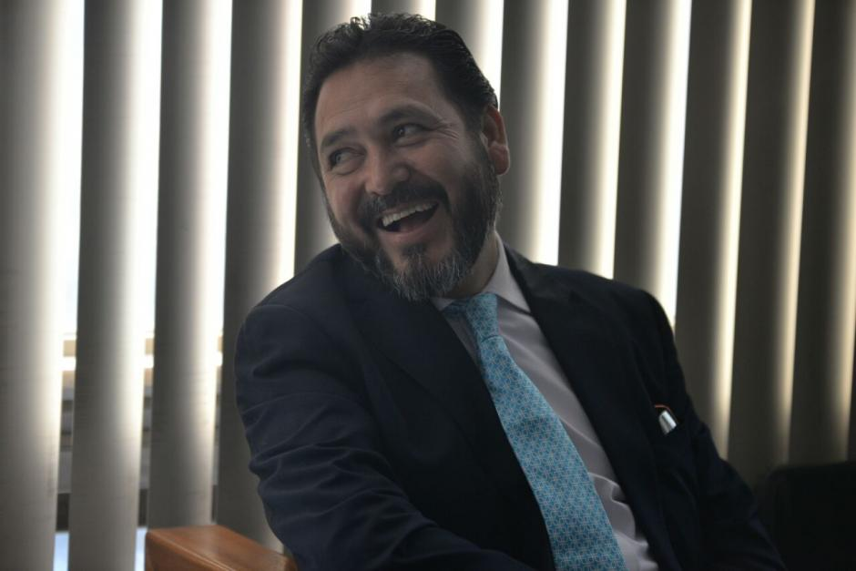 Rivera es acusado de presionar a la exmagistrada Claudia Escobar para favorecer a Roxana Baldetti. (Foto: Wilder López/Soy502)